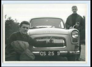W7E76/ Auto Ford Anglia Foto AK ca.1960 (b)