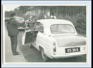 W7E75/ Auto Ford Anglia Foto AK ca.1960 (b)