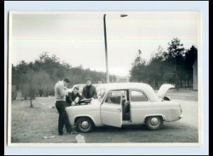 W7E74/ Auto Ford Anglia Foto AK ca.1960 (b)