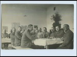 P2W64/ Soldaten 1. Weltkrieg Foto AK ca.1915