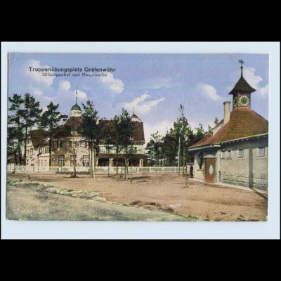 P2V97/ Truppenübungsplatz Grafenwöhr Militärgasthof 1917 AK