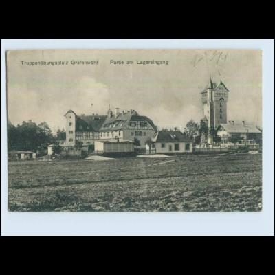 P2V96/ Truppenübungsplatz Grafenwöhr 1917 AK