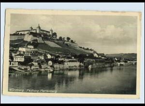 P3E52/ Würzburg Festung Marienberg 1936 AK