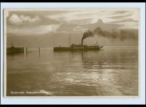 P3E31/ Bodenseedampfer Königin Charlotte Foto AK 1927