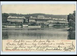 P2X26/ Pillnitz Elbdampfer Auguste Victoria AK 1905