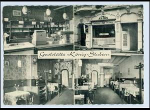 DP039/ Hamburg Altona Gaststätte König-Stuben AK ca.1965