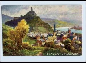 W7L20/ Braubach AK Kunstverlag: Rehn & Linzen ca.1912
