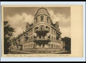 P3E82 / Bad Kissingen Hotel Büdel AK ca.1925