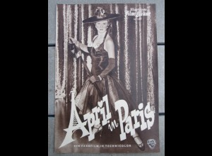 C2476/ IFB Nr. 2263 April in Paris Doris Day - Filmprogramm