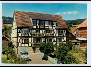 A5697-3436/ Wickersrode Hess. Lichtenau Pension Illhardt AK
