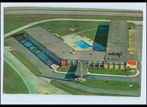 W7W84/ Cleveland Hopkins Airport Hotel Flughafen AK USA 1961