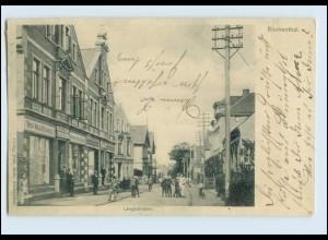 A5673/ Gruß aus Bremen Blumenthal Langestr. AK 1903