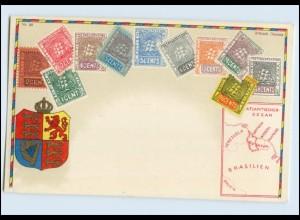 A5717/ Guyana Briefmarken Litho Ak ca.1912