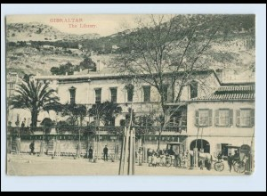 W7X18/ Gibraltar The Library AK ca.1910