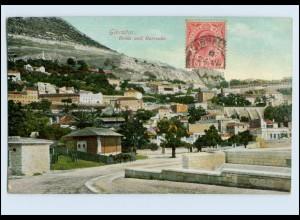 W7X16/ Gibraltar Rosia and Barracks AK 1908