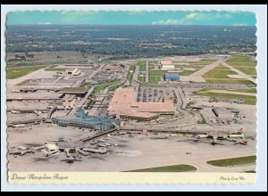 A5976/ Detroit Metropolitain Airport Flughafen AK USA