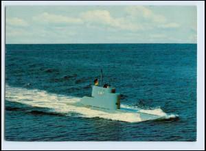 A5975/ Bundeswehr Marine U-Boot U8 AK 1978