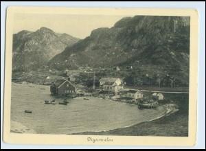W7X50/ Hamburg-Süd Dampfer Monte Sarmiento Nordlandreisen Norwegen Digermulen