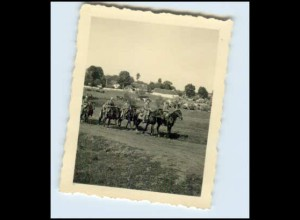W7Y26/ Offiz. Stab in Krotoszyn Polen Original Foto ca.1940 2. Weltkrieg