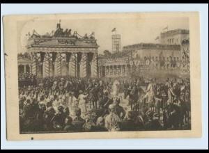 P3G17/ Einzug der Truppen in Berlin Rotes Kreuz AK 1915