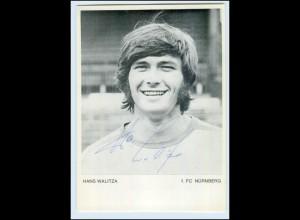 P3G99/ Hans Walitza Autogramm 1. FC Nürnberg