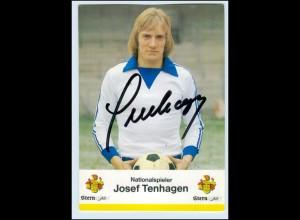 P3G94/ Josef Tenhagen Autogramm Schalke 04
