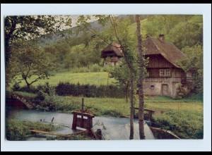W8A10/ Schwarzwaldhaus im Kirnbachtal AK Aufnahme v. H. Hildebrand AK ca.1912