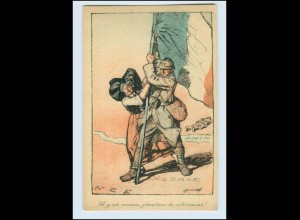 Y13506/ Elsaß Alsace Frankreich Politik AK ca.1922