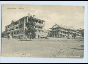 W8A11/ Caledon Sanatorium Schottland AK 1907