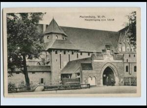 W7Z81/ Marienburg Westpreußen AK 1922