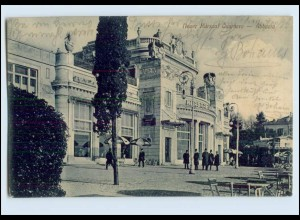 W8A99/ Abbazia Nuer Kursaal Quarnero Kroatien AK 1910