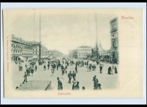 P3J60/ München Odeonplatz schöne AK ca.1900