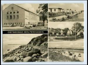 A7104-182./ Ostseebad Boltenhagen FDGB Urlauberdorf Foto AK 1969