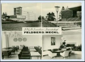 A7081-172./ Feldberg Meckl. Feldberger Seenlandschaft FDGB Erholungsheim AK 1969