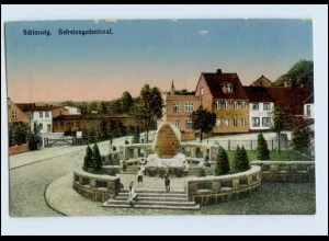 P3K92/ Schleswig Befreiungsdenkmal AK 1918