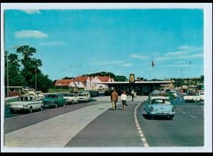 P3L82/ Krusaa Grenze Dänemark - Deutschland AK ca. 1965