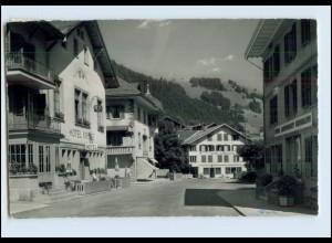 P3M35/ Zweissimmen Dorfstr. Berner Oberland AK 1964