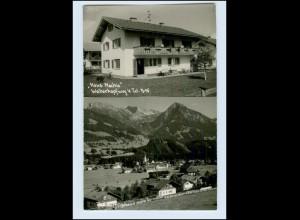 P3N13/ Fischen Allgäu Haus Machia AK ca.1955