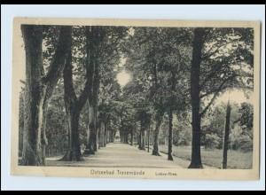 W8G48/ Travemünde Liebes-Allee AK ca.1912