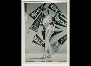 c653/ Lona Andre Ross Bild 13 x 18 cm ca.1935