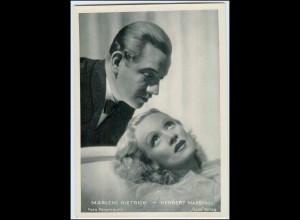 C3773/ Marlene Dietrich - Herbert Marshall Ross Bild 13 x 18 cm ca.1935