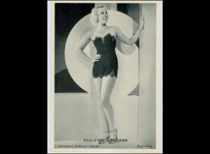 c784/ Paulette Goddard Ross Bild 13 x 18 cm ca.1935