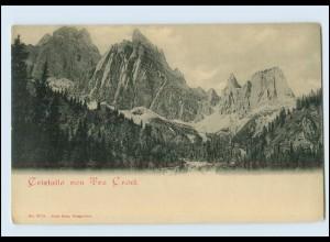 W8H28/ Cristallo von Tre Croci ca.1900 AK Südtirol Italien
