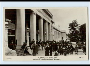 W8L82/ Wembley British Empire Exhibition - Australian Pavillon Foto AK