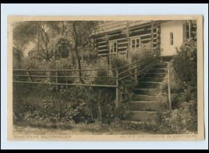 W8U70/ Schlesische Bauernhäuser Voigtsdorf Schlesien AK 1943