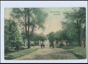 A9034/ Ahrensburg Marktplatz AK 1911