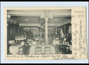 W8X24/ Hamburg Restaurant Stechen AK 1901