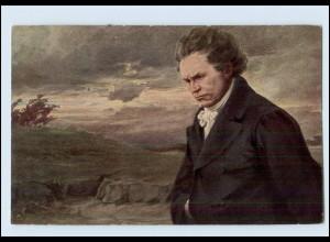 W8Y18/ Beethoven schöne Künstler AK ca.1920