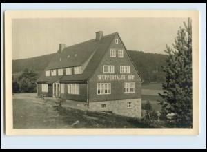 A9209-3542/ Willingen Waldeck Wuppertaler Hof Foto AK 1950
