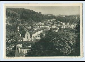 W8Y97/ Luxemburg Heinrich Hoffmann AK ca.1938 Vorstadt Pfaffenthal